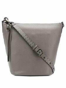 Coach Duffle shoulder bag with Rivets - Grey