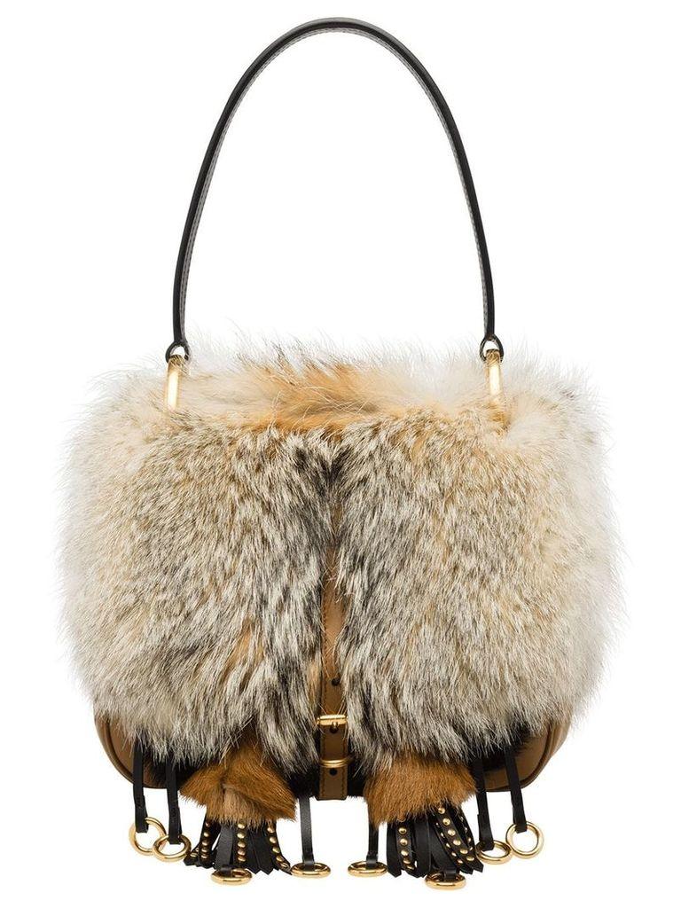 Prada Corsaire Bag - Neutrals