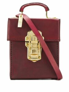 Munoz Vrandecic boxy shoulder bag - Red