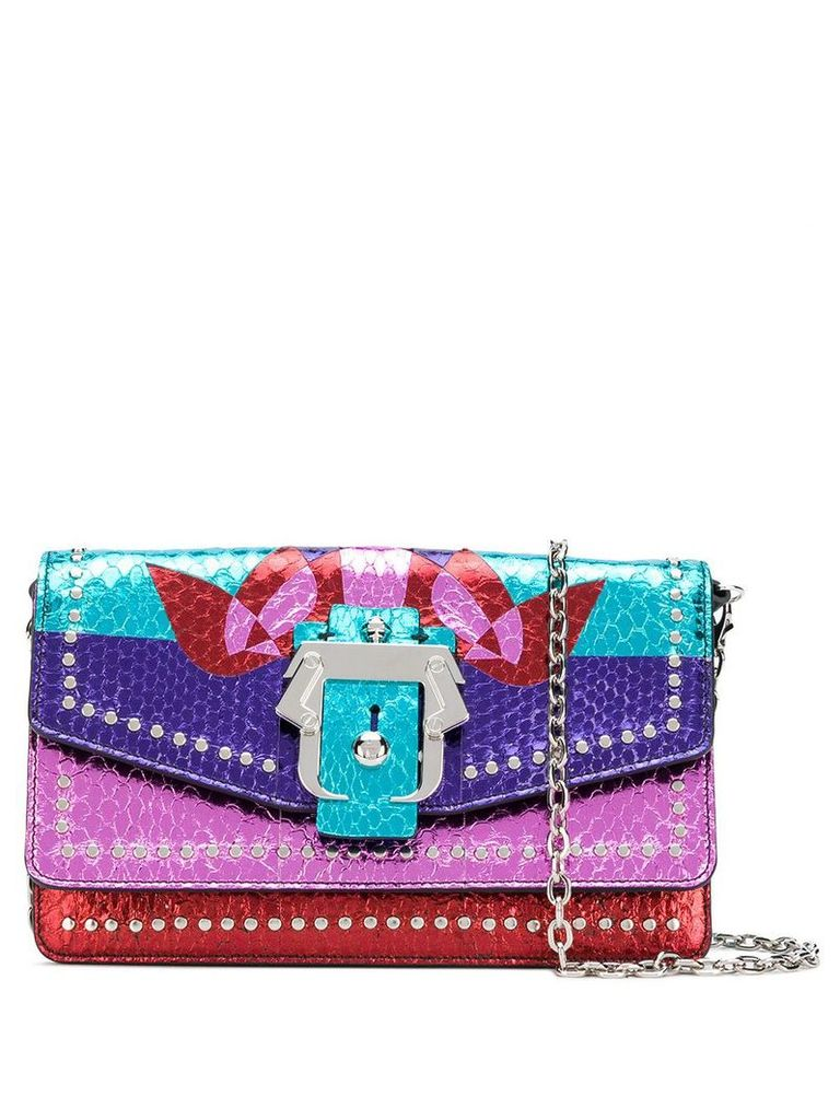 Paula Cademartori Lou Lou Exotic Love bag - Pink