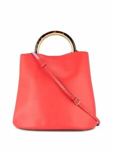 Marni round handle tote - Red