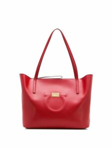 Salvatore Ferragamo Gancini tote bag - Red