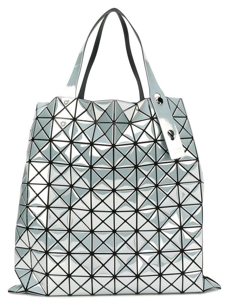 Bao Bao Issey Miyake geometric panel tote bag - White
