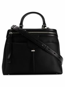 Tod's zipped compact tote - Black