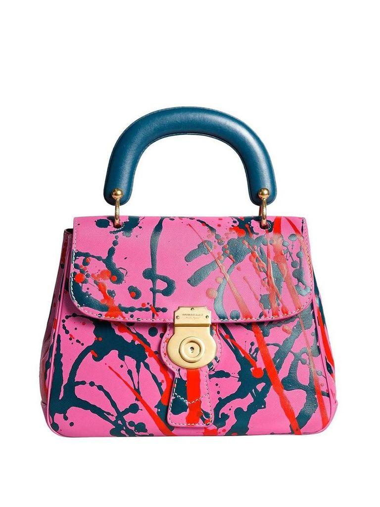 Burberry medium splash DK88 top handle bag - Pink
