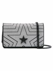 Stella McCartney embellished star crossbody bag - Black