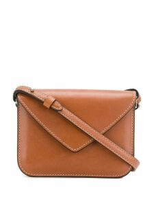 Holland & Holland saddle crossbody bag - Brown