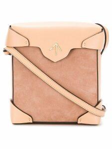 Manu Atelier Mini Pristine cross-body bag - Neutrals