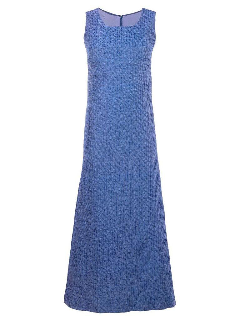 A.N.G.E.L.O. Vintage Cult sleeveless bow embellished dress - Blue