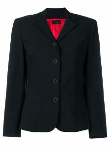 Dolce & Gabbana Pre-Owned single breasted blazer - Black