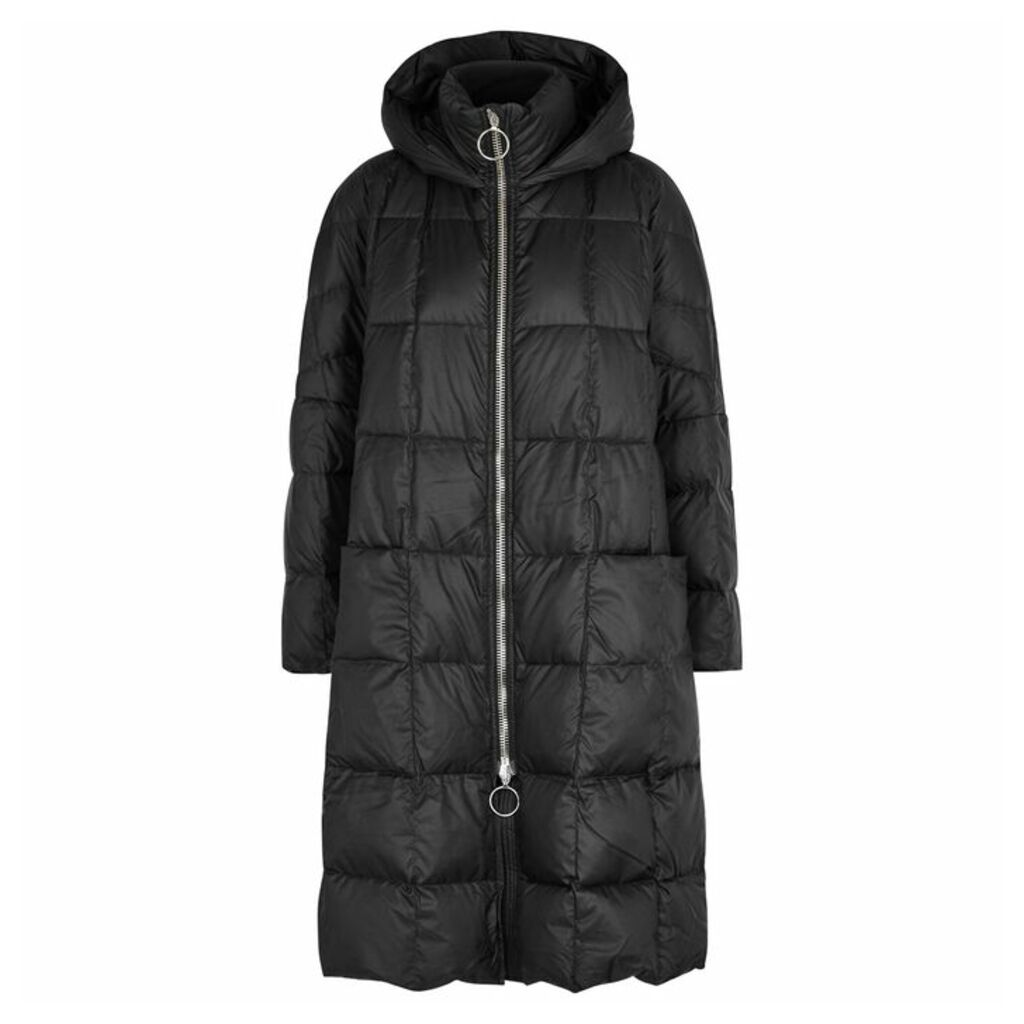 IENKI IENKI Pyramid Quilted Shell Coat