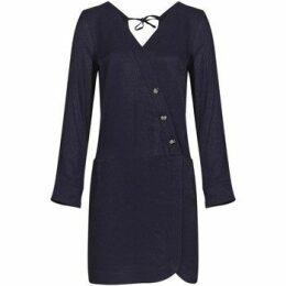 Mado Et Les Autres  Heart effect dress  women's Dress in Blue