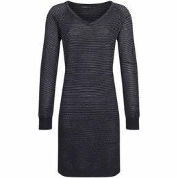 Mado Et Les Autres  Knit dress with lurex thread  women's Dress in Blue