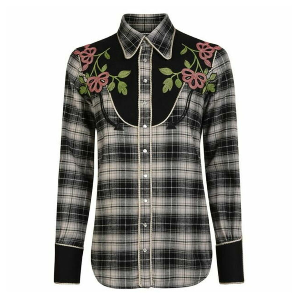 DSQUARED2 Check Cowgirl Shirt