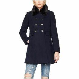 Anastasia  Winter Fur Collar Coat  women's Coat in Black