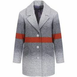 Mado Et Les Autres  Loose shape coat  women's Coat in Grey