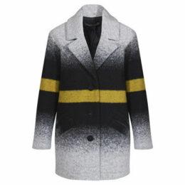 Mado Et Les Autres  Loose shape coat  women's Coat in Black