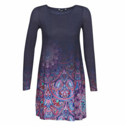 Desigual  TROYA  women's Dress in Blue