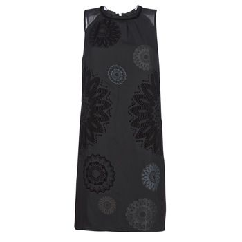 Desigual  ZAGREB  women's Dress in Black