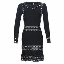 MICHAEL Michael Kors  GRMMT STRIPE LS DRS  women's Dress in Black