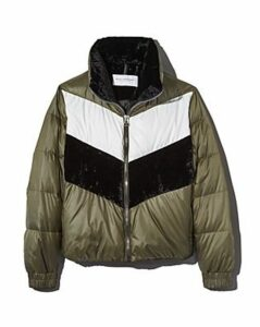 Marc New York Bedford Chevron Puffer Coat