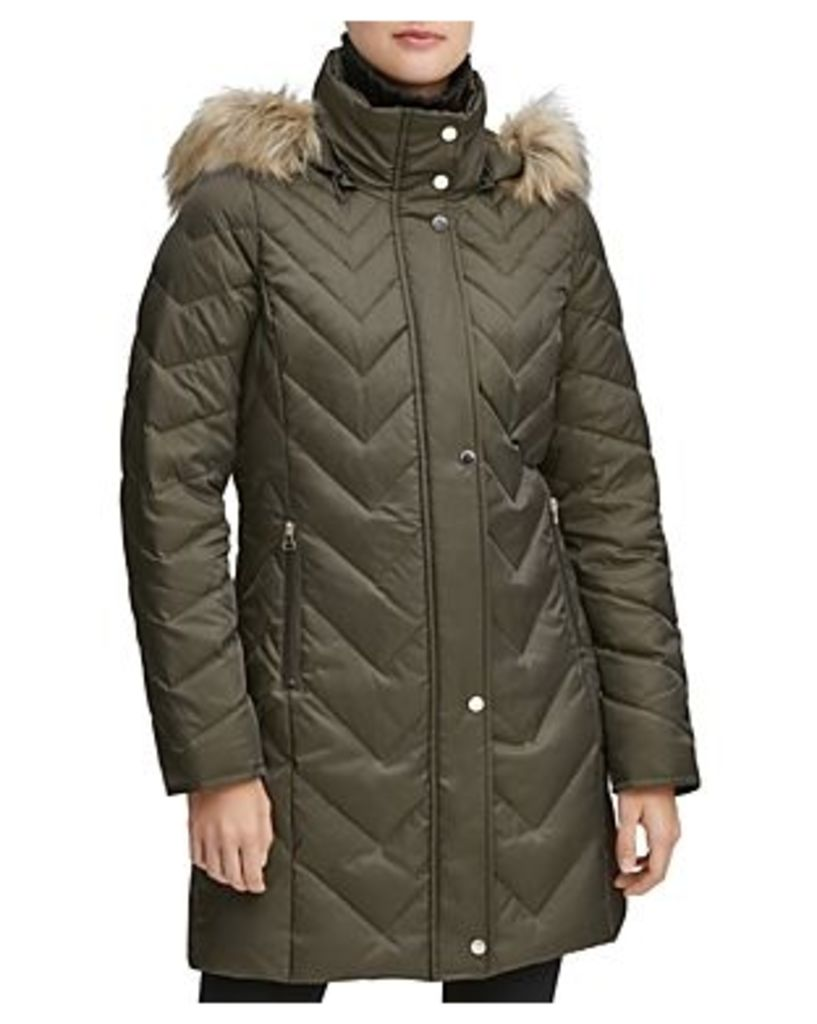 Marc New York Roxbury Matte Satin Puffer Coat