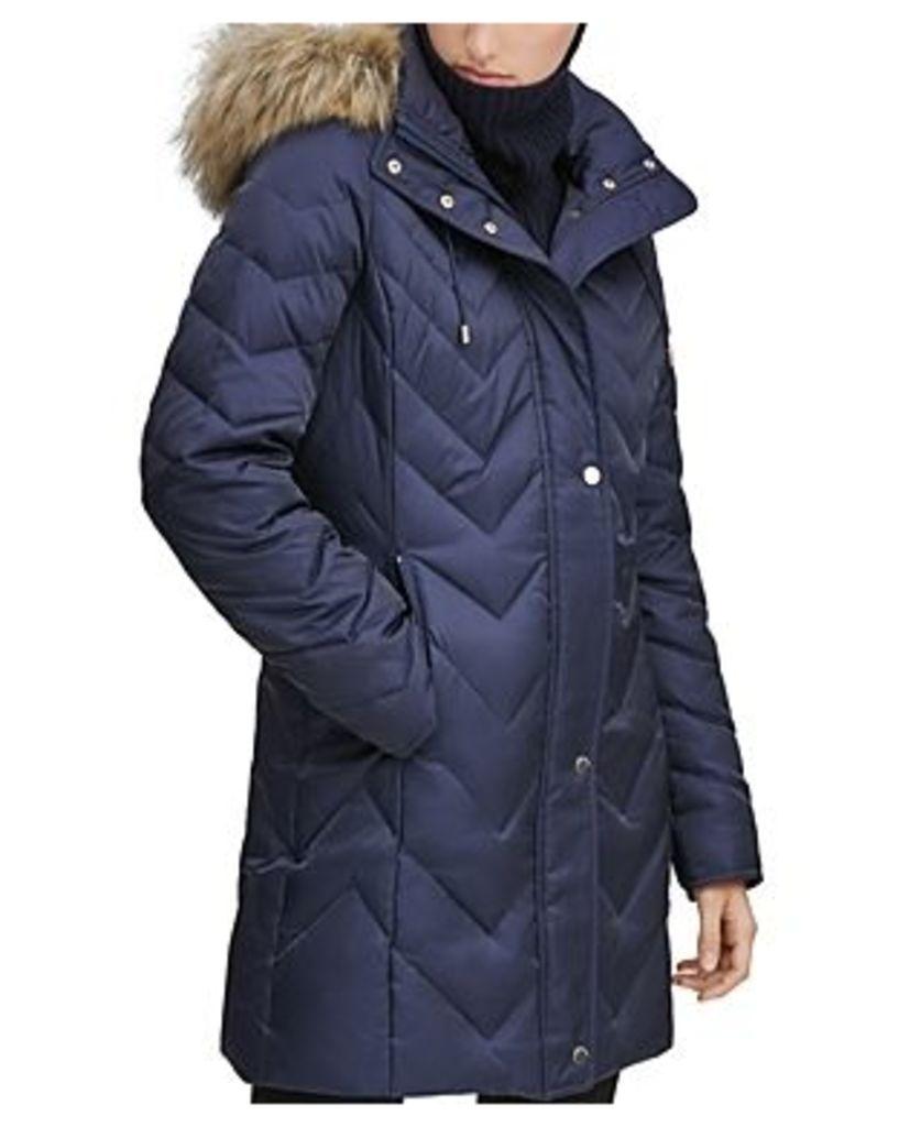 Marc New York Roxbury Matte Satin Puffer Coat