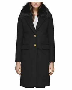 Mackage Henrita-x Fur Trim Tailored Coat