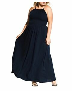 City Chic Plus Devotion Sleeveless Maxi Dress