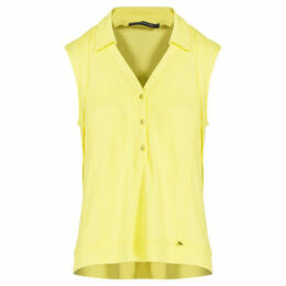 Mado Et Les Autres  Tank top stitched  women's Blouse in Yellow