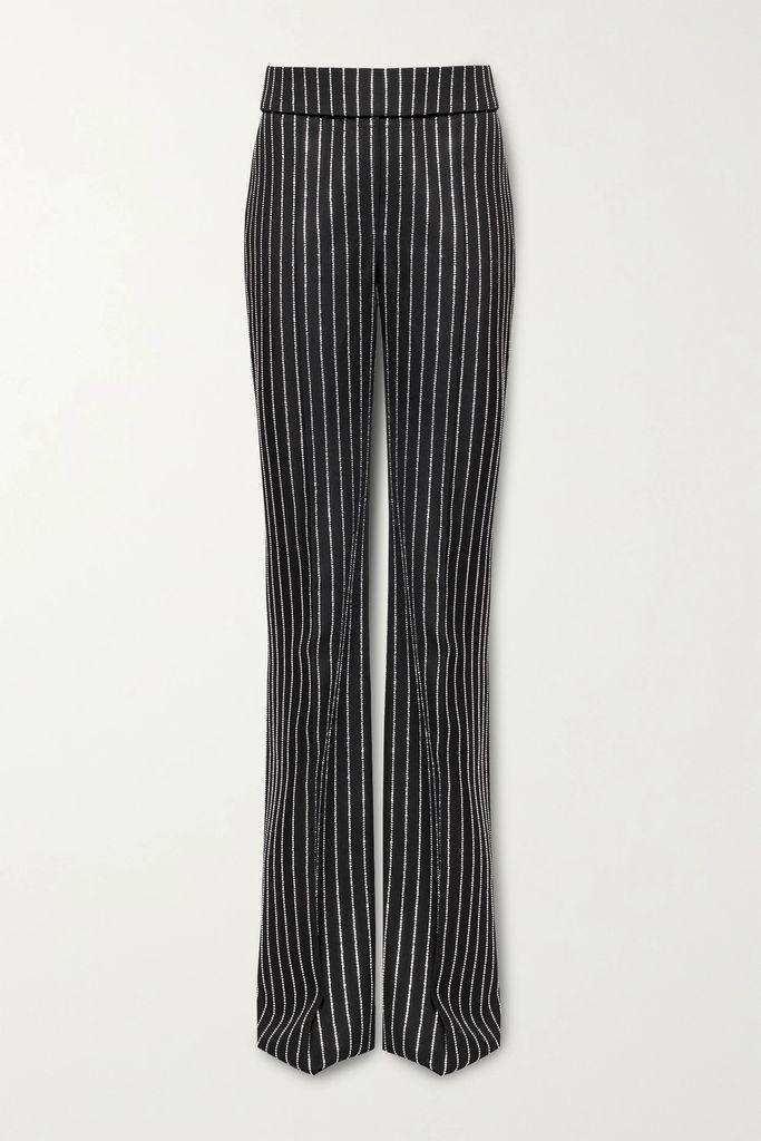 Gucci - Dionysus Mini Printed Coated-canvas And Suede Shoulder Bag - Beige