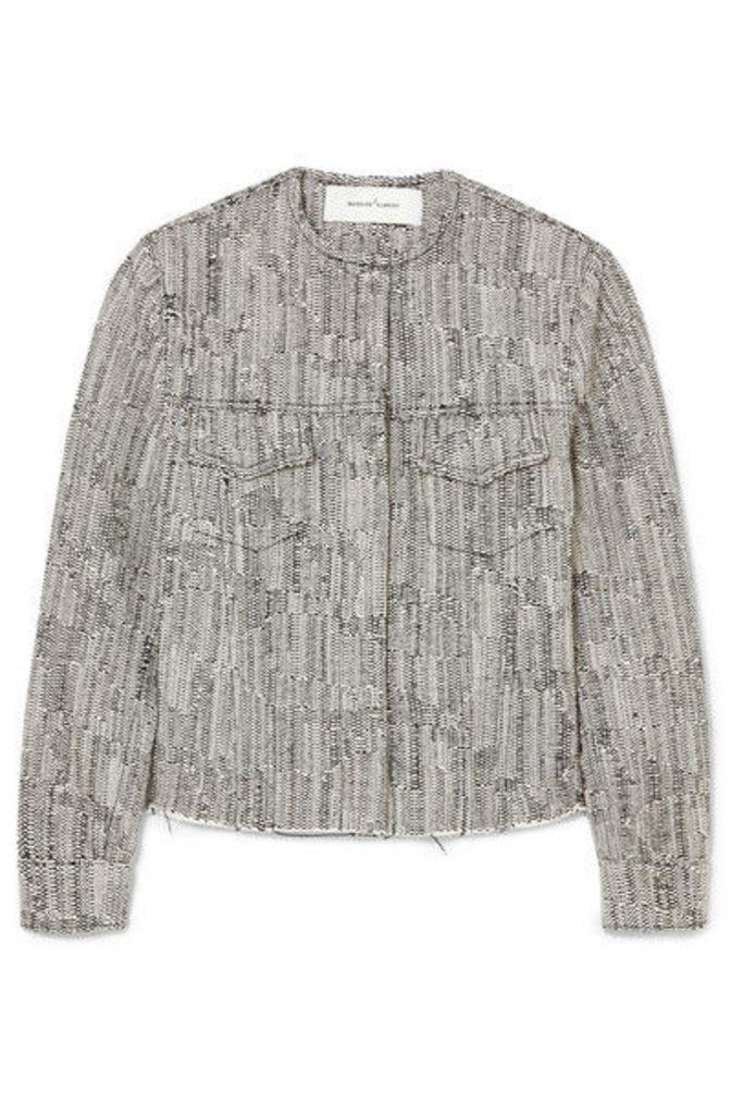 Marques' Almeida - Cotton-blend Tweed Jacket - Black