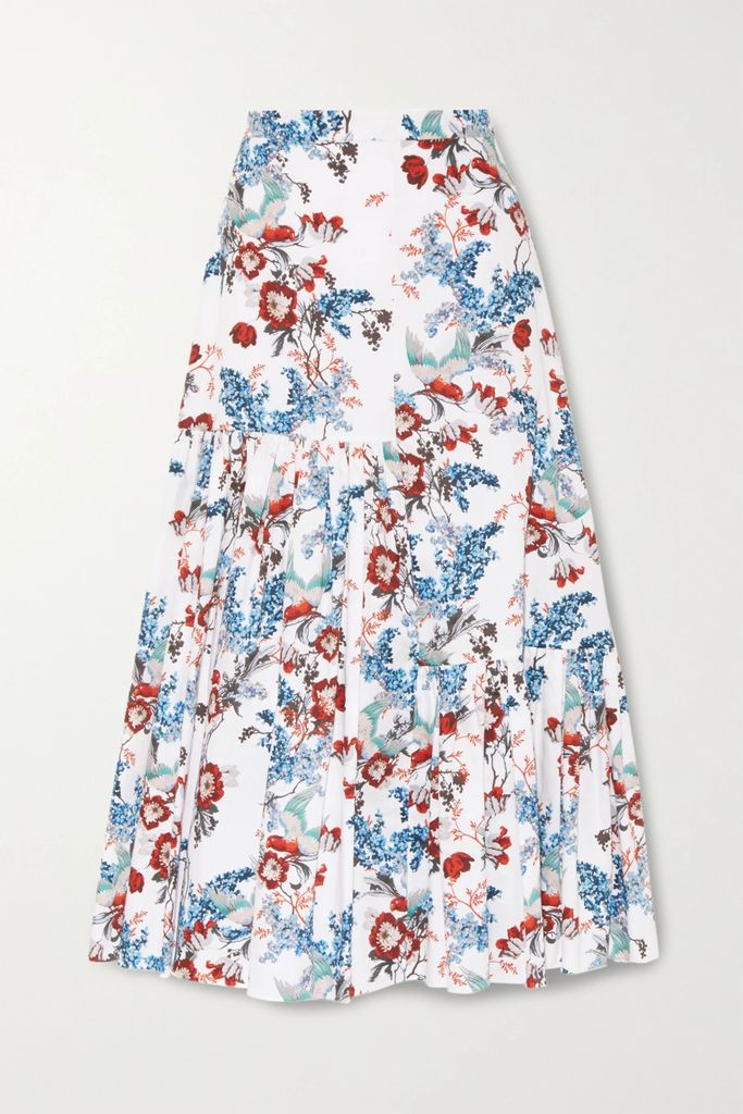 Ninety Percent - Marisa Ribbed Organic Cotton-jersey T-shirt - Blush