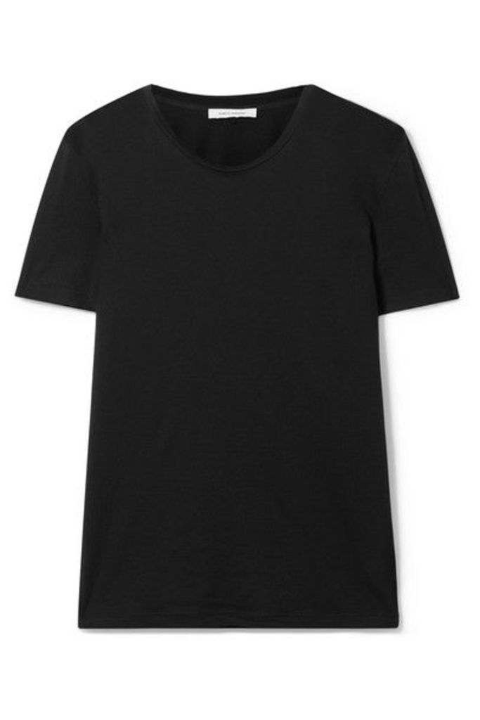 Ninety Percent - Jenna Organic Cotton-jersey T-shirt - Black