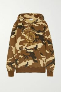 Gucci - Pleated Checked Wool-blend Crepe Midi Skirt - Red