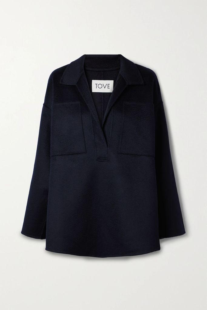 Diane von Furstenberg - Faux Fur Jacket - Crimson