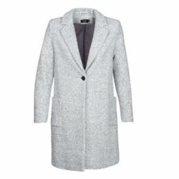 Only  ONLASTRID  women's Coat in Grey