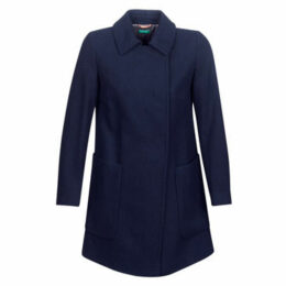 Benetton  MOUNAK  women's Coat in Blue