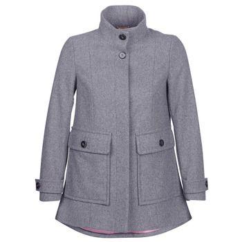 Benetton  MARTINO  women's Coat in Grey