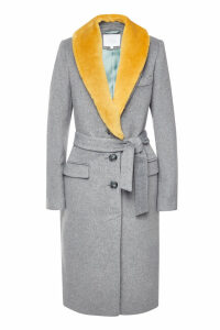 Lala Berlin Nila Coat with Wool Lapels