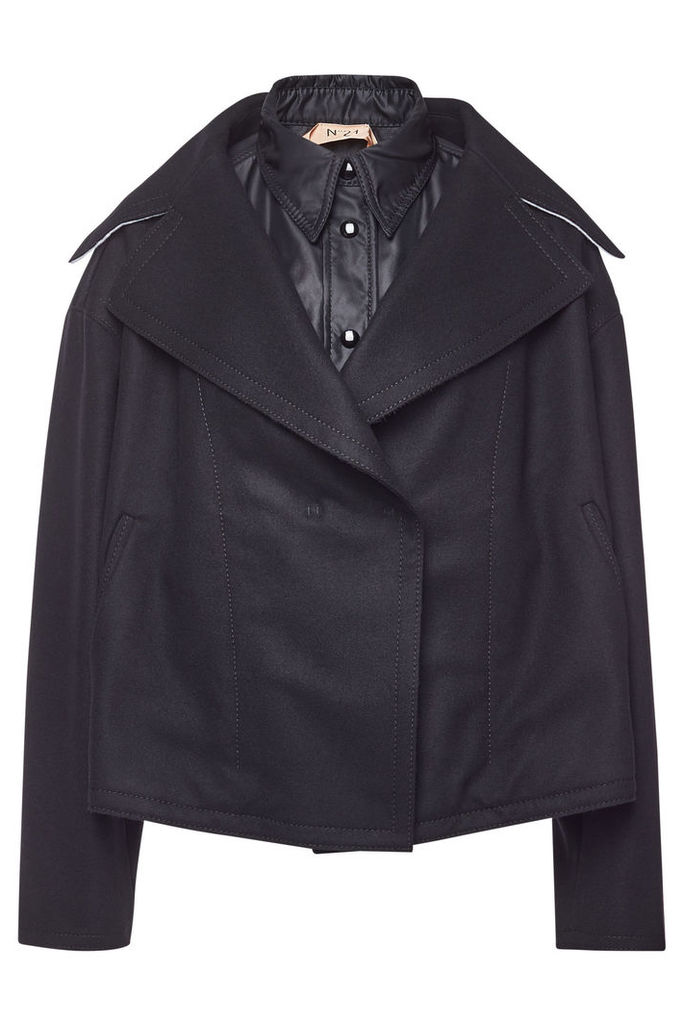 N °21 Wool Jacket with Cashmere