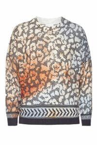 Lala Berlin Printed Wool Pullover