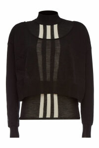 Y-3 Cropped Wool Pullover