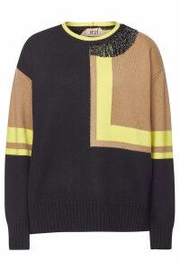 N °21 Embellished Wool Pullover