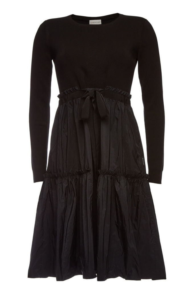 Moncler Dress with Drawstring Skirt
