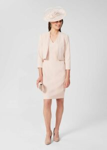 Dalby Wool Skirt Peacock Navy