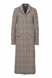 Jil Sander Filadefia Printed Fleece Wool Coat