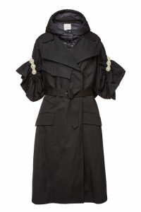 Moncler Genius 4 Moncler Simone Rocha Ruth Down Coat with Embellishment