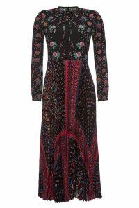 RED Valentino Printed Maxi Dress