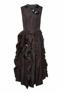 Moncler Genius 4 Moncler Simone Rocha Embellished Midi Dress